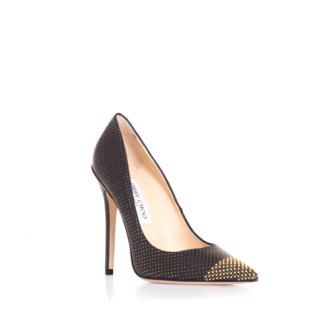 Jimmy Choo Perforated Leather Pumps-JIMMY CHOO-SHOPATVOI.COM - Luxury Fashion Designer