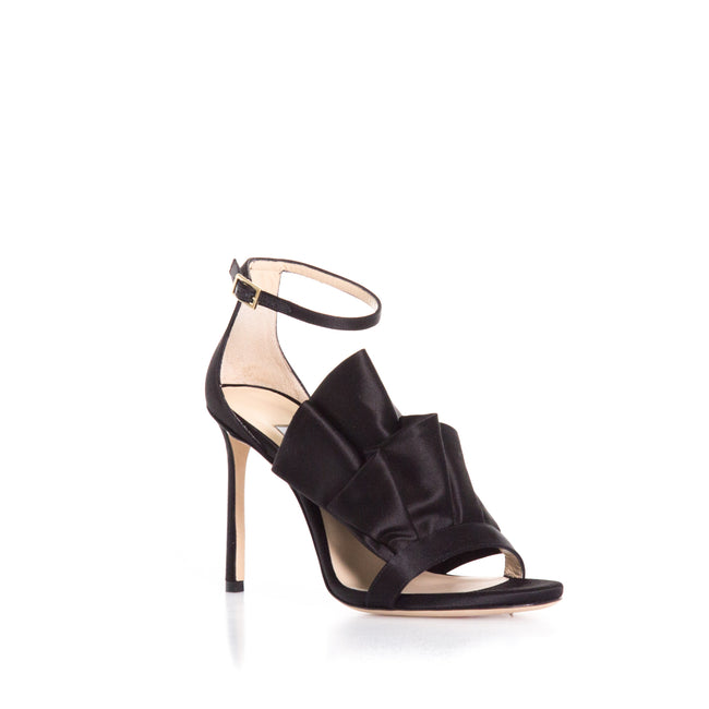 Jimmy Choo Silk Satin Heel Sandals-JIMMY CHOO-SHOPATVOI.COM - Luxury Fashion Designer