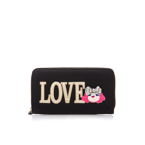 Love Moschino Love Patch Wallet-LOVE MOSCHINO-SHOPATVOI.COM - Luxury Fashion Designer