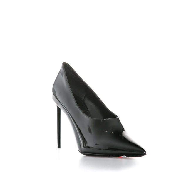 Yves Saint Laurent Patent Leather Teddy Pumps-YVES SAINT LAURENT-SHOPATVOI.COM - Luxury Fashion Designer
