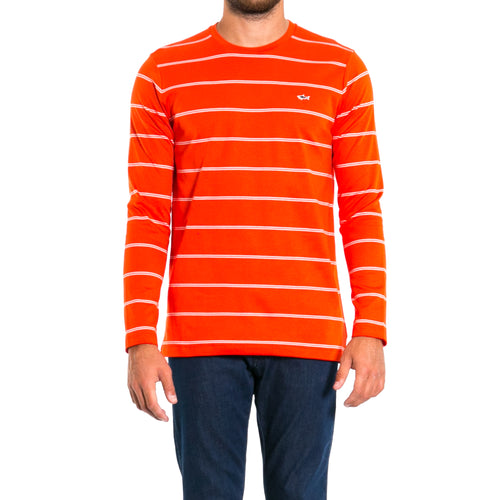 Striped Cotton Logo Top-PAUL & SHARK-SHOPATVOI.COM - Luxury Fashion Designer