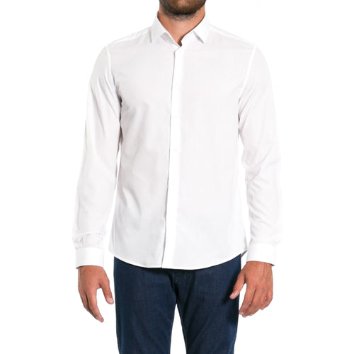 Classic Cotton Shirt-VERSACE COLLECTION-SHOPATVOI.COM - Luxury Fashion Designer