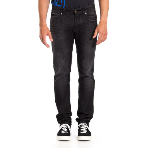 New Fit Denim Jeans-VERSACE COLLECTION-SHOPATVOI.COM - Luxury Fashion Designer