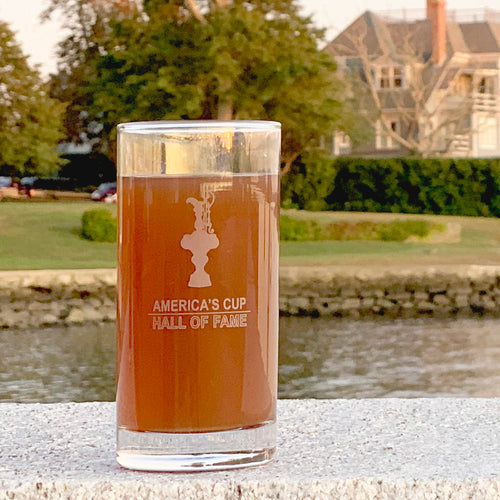 America's Cup Hall Of Fame Highball Glass