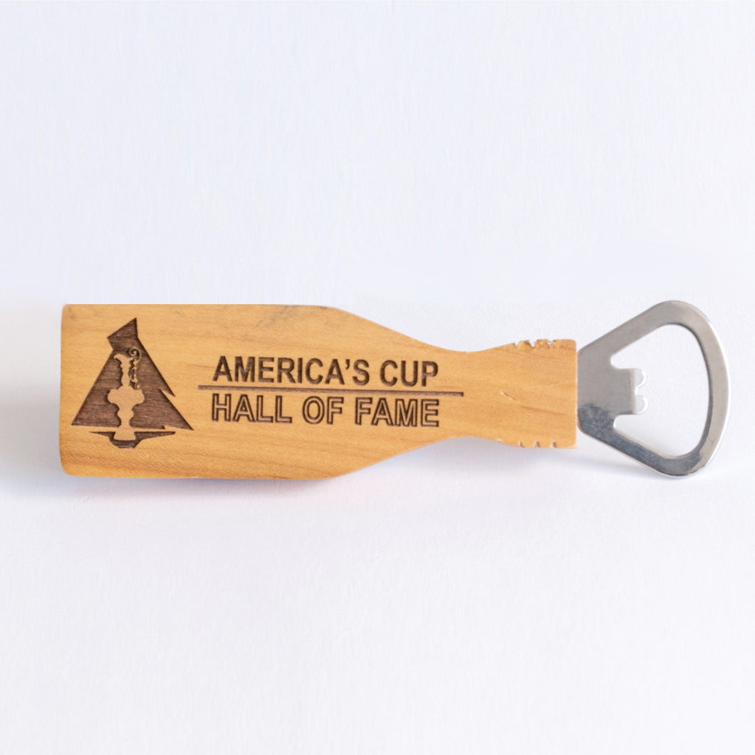 America's Cup Hall of Fame Magnetic Bottle Opener