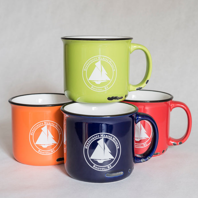 Herreshoff Vintage 15oz. Coffee Mugs