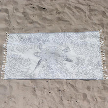 Protect Oceans - Sea Turtle Reef Towel