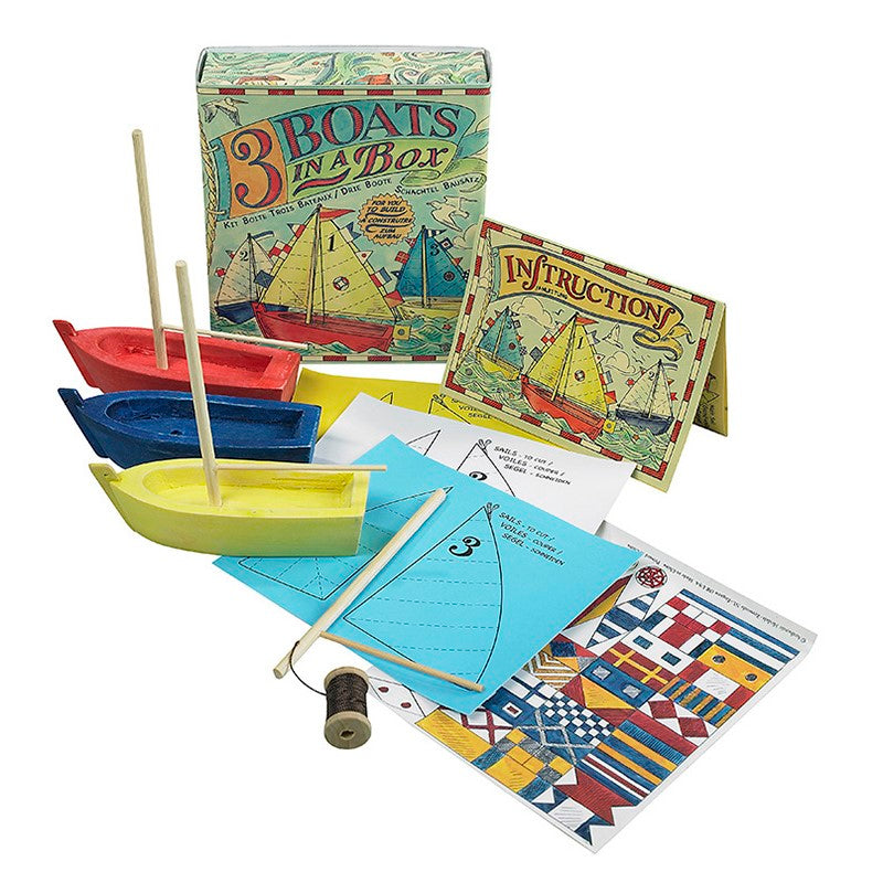 Three Boats In A Box Kit