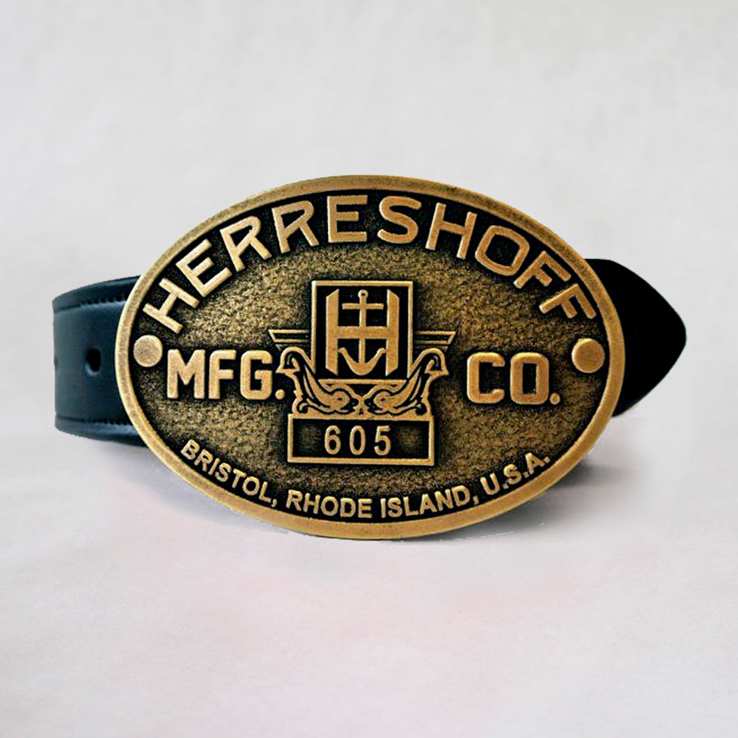 Builders Plate Belt Buckle