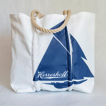 Custom Navy Herreshoff Tote bag