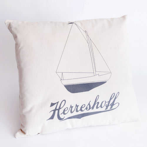 Herreshoff 12 & 1/2 Throw Pillow