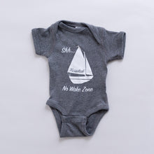 "H12 ""No Wake Zone"" Toddler's Onesie"