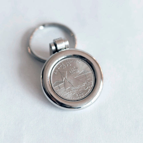 Reliance Quarter Key Chain
