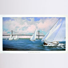 S Boats in Bristol Harbor Print