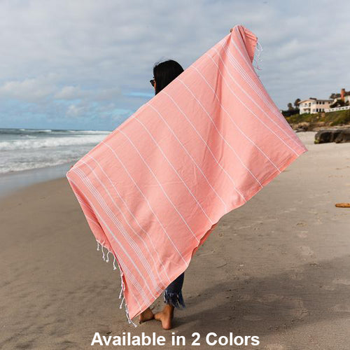 Protect Oceans -Classic Striped Recycled Towels