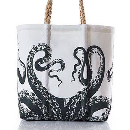 Octopus Black Bag