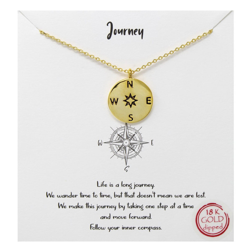Whimsy - Journey Pendant Necklace