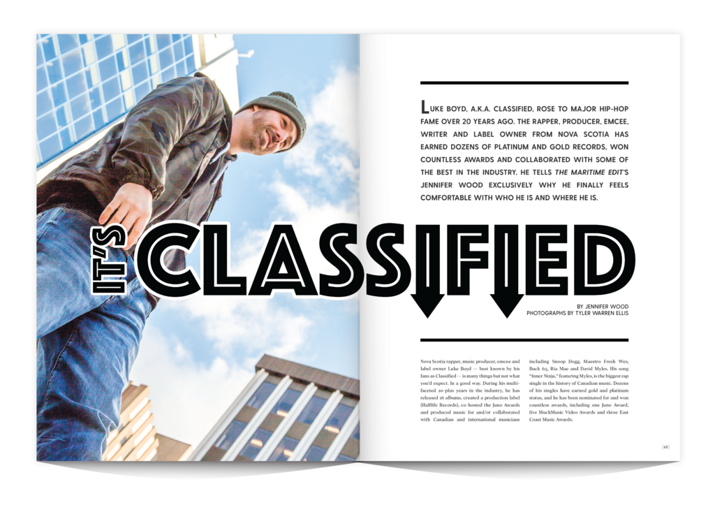 Classified interview for [EDIT] Magazine, Volume 4 | [EDIT]