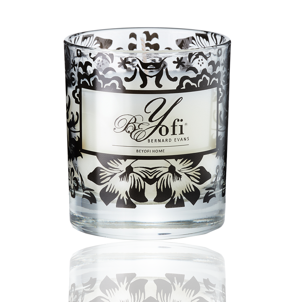 BEYofi Home Scented Candle Clear Glass In-A-Box
