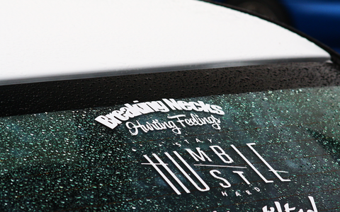 Breaking Necks Hurting Feelings Sticker