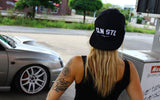 Classic Snapback - White on Black
