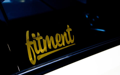 Fitment Sticker