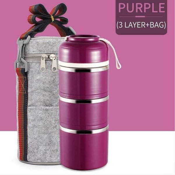CutieBox™ Limited Edition - Multi-Layer Thermal Lunchbox