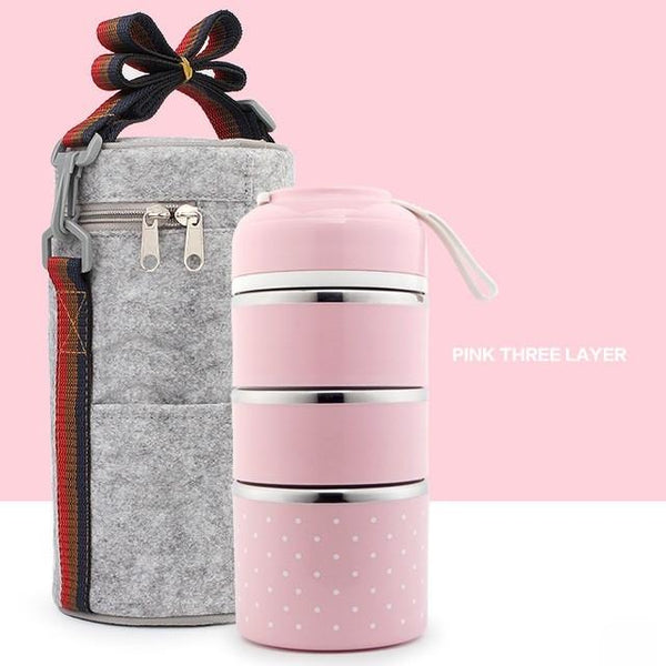 CutieBox™ Multi-Layer Thermal Lunchbox