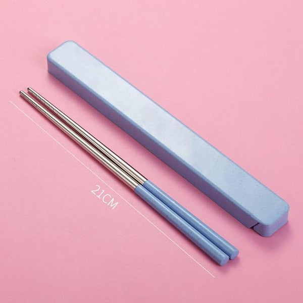 Cute Chopsticks Travel Box