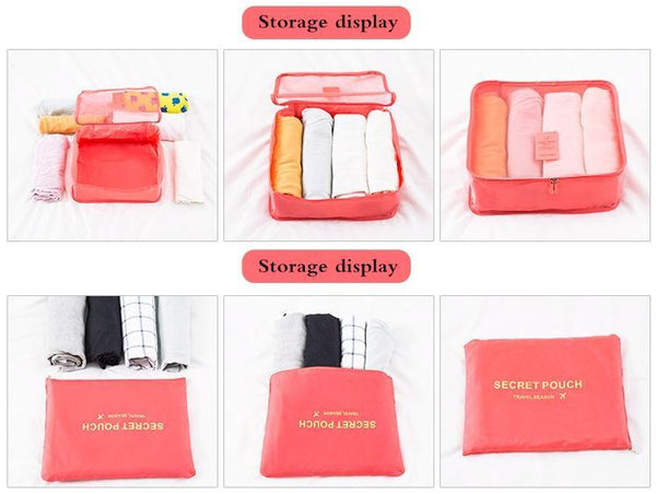 EasyPack Compression Travel Bags Set