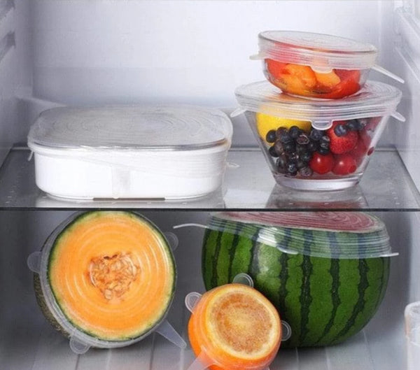 Stretch&Store™! Reusable Silicone Lids