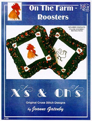 Rooster Pillows - Xs and Ohs