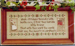 A Stitcher's Prayer - Little House Needleworks
