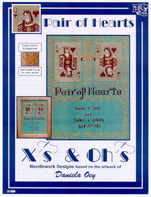 Pair of Hearts - Xs and Ohs