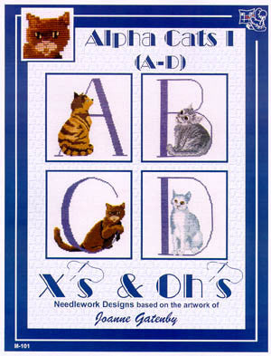 Alpha Cats (A-D) - Xs and Ohs