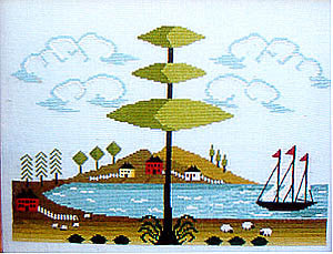 13th Colony Bay Part 1 - By The Bay Needleart