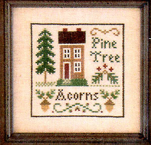 Acorns & Pines - Little House Needleworks