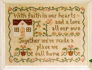 A Place We Call Home - Country Cottage Needleworks