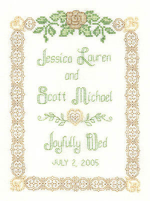 Beaded Wedding Sampler - Imaginating
