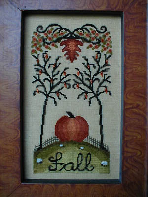 Pumpkin Hill - By The Bay Needleart