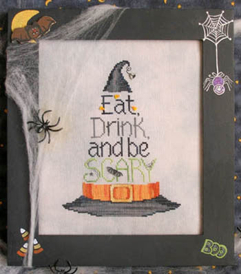 Eat, Drink & Be Scary - Waxing Moon Designs