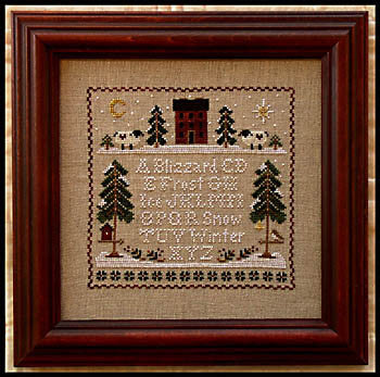 Winter Whites - Little House Needleworks