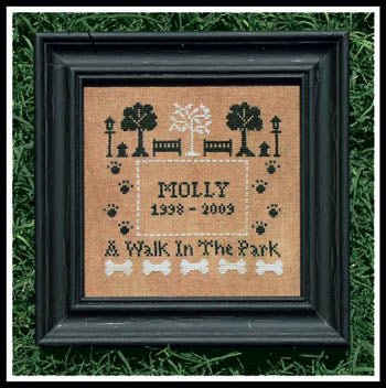 A Walk In The Park - Little House Needleworks