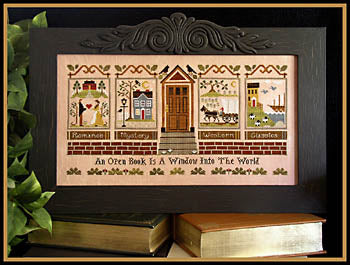 The Library - Little House Needleworks