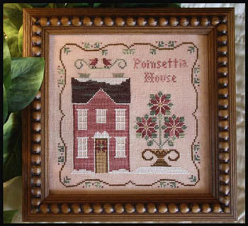 Poinsettia House - Little House Needleworks