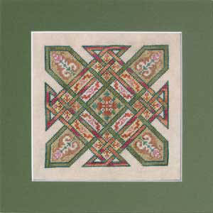 Celtic Quilts: Kentucky Chain - Ink Circles