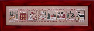 Winter White Woodland - Blue Ribbon Designs