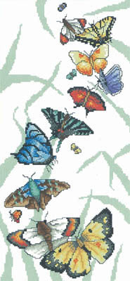 Butterfly Parade - Vickery Collection