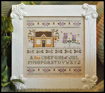 A Bee C Sampler - Country Cottage Needleworks