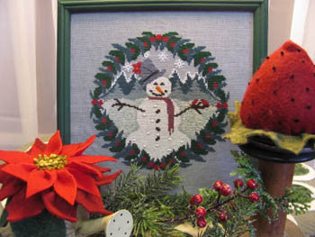 Sam the Snowman - By The Bay Needleart